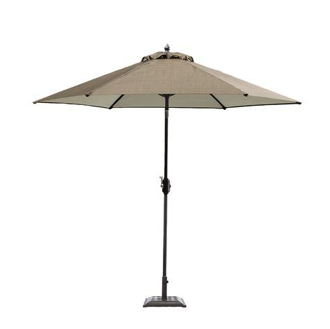 garden oasis harrison 9 patio umbrella in brown sears