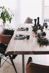 Esstisch Weihnachtlich Dekorieren : einfach aber stilvoll unser weihnachtlich gedeckter esstisch tischdeko weihnachten ~ Markanthonyermac.com Haus und Dekorationen