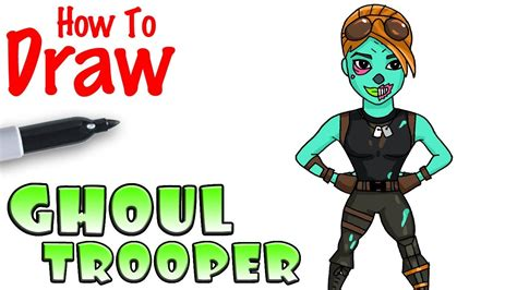 How To Draw The Ghoul Trooper
