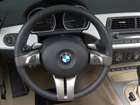 2006 Bmw Z4 Steering Wheel Interior Photo