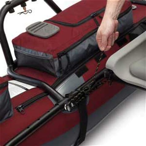 Inflatable Pontoon Boat Anchor System by Classic Accessories Oswego Inflatable Pontoon