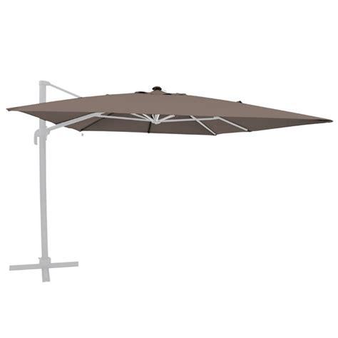 toile de remplacement pour parasol d 233 port 233 shiny taupe