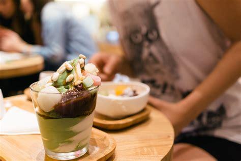 via tokyo dessert cafe review japanese matcha soft serve that food cray