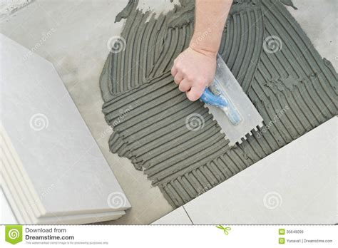 laying ceramic tiles royalty free stock images image 35649099