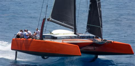 Gunboat Foiling Catamaran by Dna Unveils Its New Automated Foil Control System For The