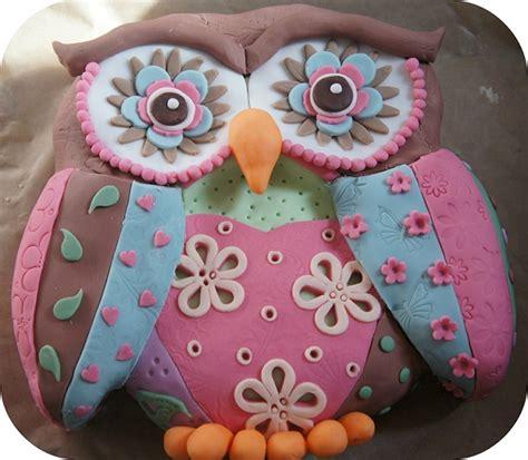 owl birthday cake patchwork owl birthday cake cooking cakes children