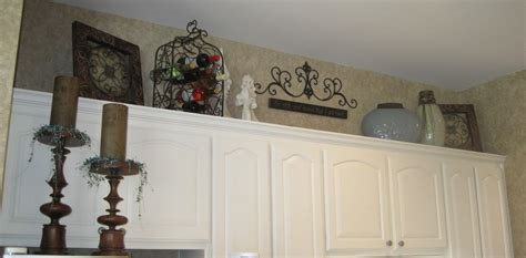 Above Kitchen Cabinet Decorations Pictures by Decorating Above My Cabinets Ideas Kitchen Cabinet