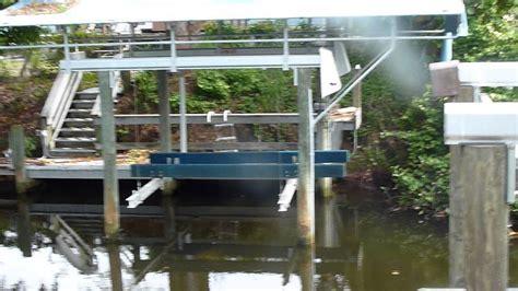 Boat Lift Hand Crank by Boat Lift Ideas Youtube
