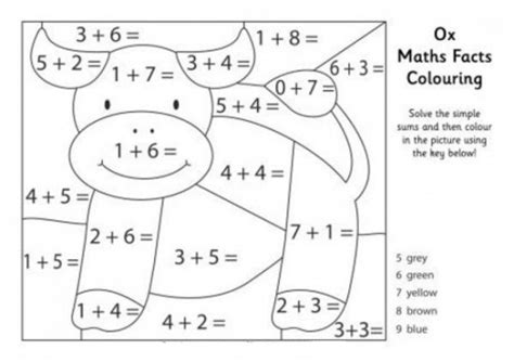 20+ Free Printable Math Coloring Pages Everfreecoloringcom