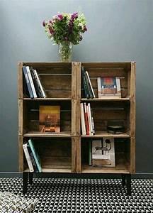 Bücherregal Selber Bauen Kreativ : die besten 25 regal selber bauen ideen auf pinterest regal bauen kleiderst nder obi und ~ Markanthonyermac.com Haus und Dekorationen