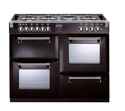 buy stoves richmond 1000dft dual fuel range cooker black free delivery currys