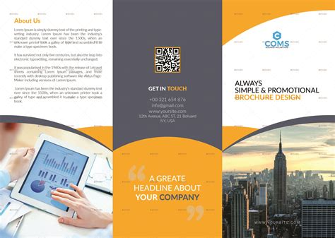 70+ Premium & Free Business Brochure Templates Psd To