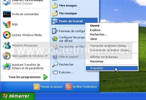 windows xp bureau 224 distance activer l autorisation 224 se connecter www octetmalin net
