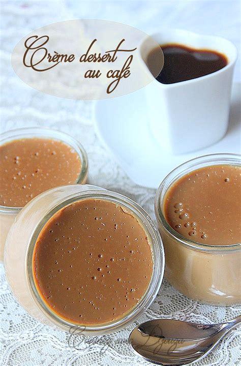 cr 232 me dessert au caf 233 sans gluten recettes faciles recettes rapides de djouza