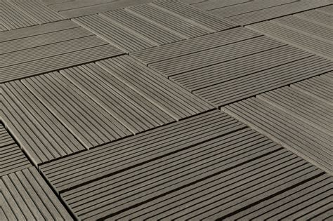 kontiki composite interlocking deck tiles classic 25 year gray 12 quot x12 quot x15 16 quot