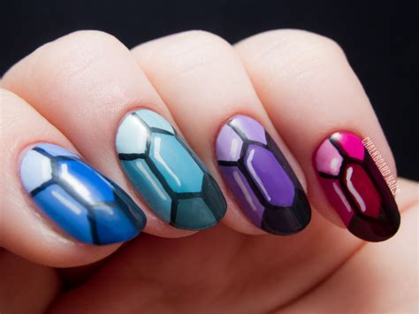 Nail Design :  Precious Gems Nail Art Inspired By The Ring And