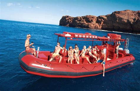 Zodiac Boat Maui by Kihei Snorkeling Tours To Molokini Best Maui Snorkeling
