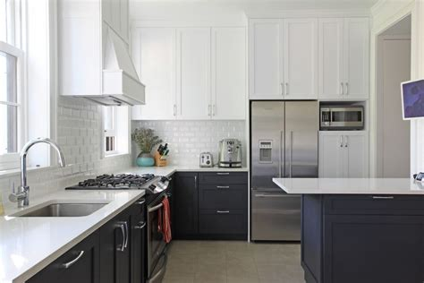 forevermark white shaker cabinets kitchen traditional with white range flower and plant