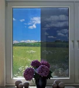 Sichtschutz Fenster Innen : spion spiegelfolie f r fenster in silber als sichtschutz ~ Markanthonyermac.com Haus und Dekorationen