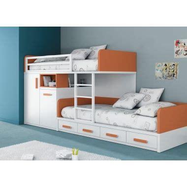 lits superpos 233 s 190x90 avec tiroirs et armoire en vue armoires tiroirs et