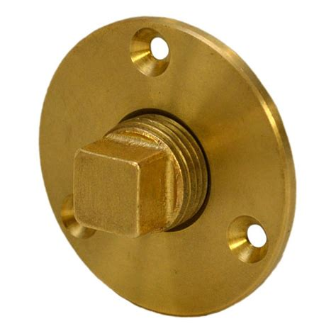 2 Inch Boat Drain Plug by Attwood 7553 3 Brass 1 2 Inch Npt Water Tight Garboard
