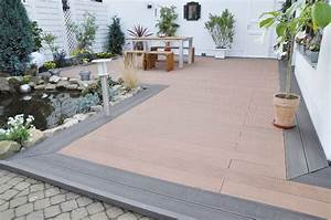 Terrasse Verlegen Preis : wpc unterkonstruktion selber bauen anleitung in 4 schritten ~ Markanthonyermac.com Haus und Dekorationen