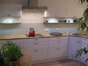 Arbeitsplatte Eiche Massiv Ikea : lack fronten und massivholz arbeitsplatte rwk fertiggestellte k chen ~ Markanthonyermac.com Haus und Dekorationen
