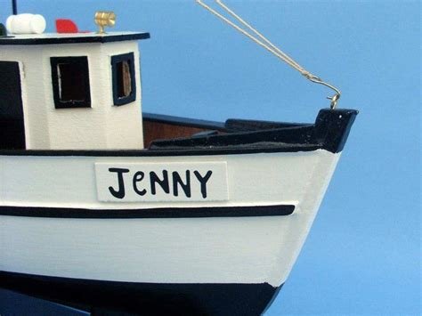 Shrimp Boat Jenny by Forrest Gump Jenny Shrimp Boat 16 Inch Model Fishing