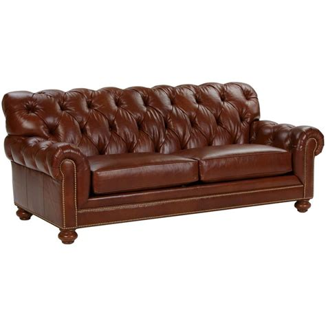 chadwick leather sofa saddle ethan allen us