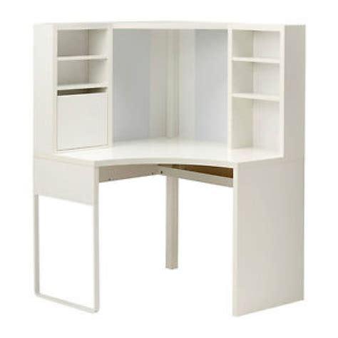 bureau en coin ikea blanc collection micke mobilier bureau
