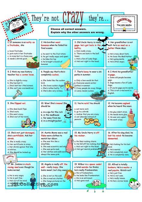 Worksheet 48 Beautiful Idioms Worksheets Ideas