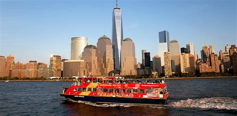 Round Manhattan Boat Trip by New York City Bus Tours Nyc Tours