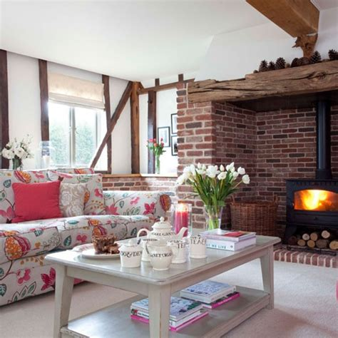 country living room ideas uk country style living room cosy living room design ideas
