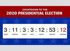 BuzzFeed 2020 Election Countdown Clock Video Stream Goes