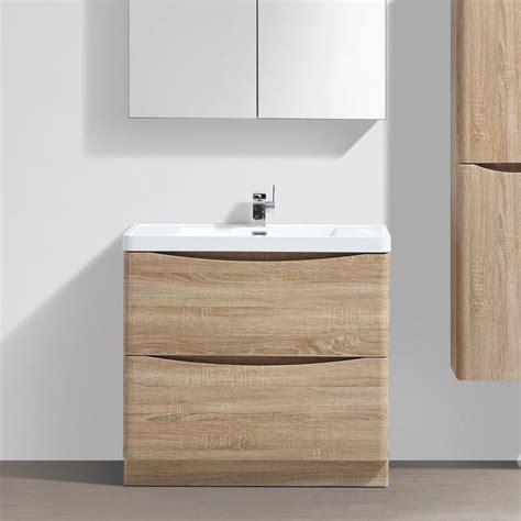 meuble salle de bain 90 cm ch 234 ne 224 poser 2 tiroirs nature