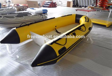 Inflatable Boats Hull by Freesun Rib Aluminum Hull Rigid Bottom Inflatable Boats