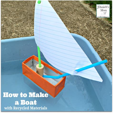 Toy Boat From Recycled Materials by How To Make A Boat With Recycled Materials Jdaniel4s Mom