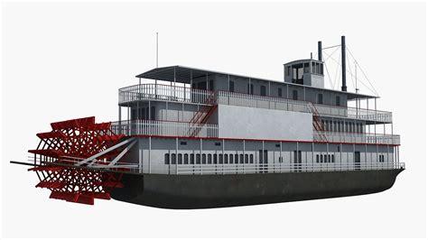 Model Steam Boat Youtube by Historic Steam Boat 3d Model Youtube