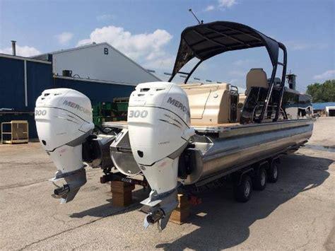 Twin Engine Pontoon by Tahoe Luxury Pontoon Boats For Sale