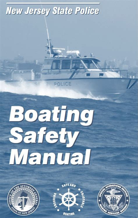 Nj Boating License Online by Marine Services New Jersey State Police