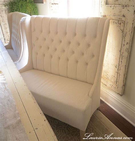 high back tufted loveseat 678 from joss bench