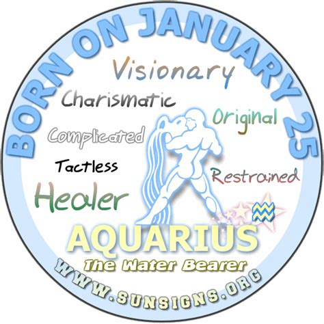 January 25 Horoscope Birthday Personality  Sunsignsorg. System Performance Monitoring. App Development Companies Los Angeles. How To Get Out Of Debt Plumbing In California. Proton Treatment For Brain Tumors. Online College Accounting Bank Escrow Account. Car Dealerships With Special Financing. Merchant Services Miami Credit Card Age Limit. Aatrix Payroll Software Ritz Plumbing Reviews