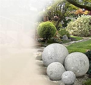 Bilder Für Den Garten : kugeln aus stein f r den garten kaufen online shop ~ Markanthonyermac.com Haus und Dekorationen