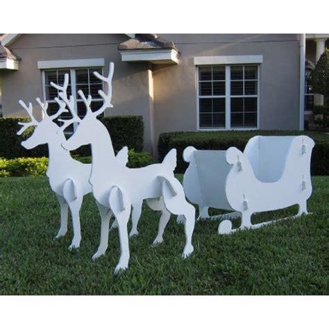 Santa Sleigh Outdoor Decoration by Christmas Santa Sleigh Decoration Absolutely Needed
