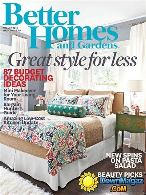 Better Homes Gardens Magazine better homes and gardens usa august 2013 187 pdf