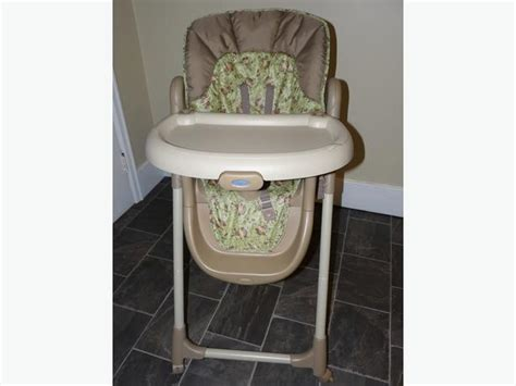 graco meal time monkey business highchair saanich