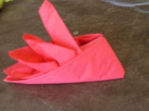 pliage de serviette en papier facile gratuit