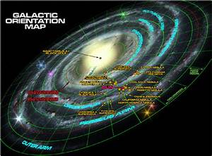 Incredible, Detailed Maps of the Galaxy by Winchell Chung ...