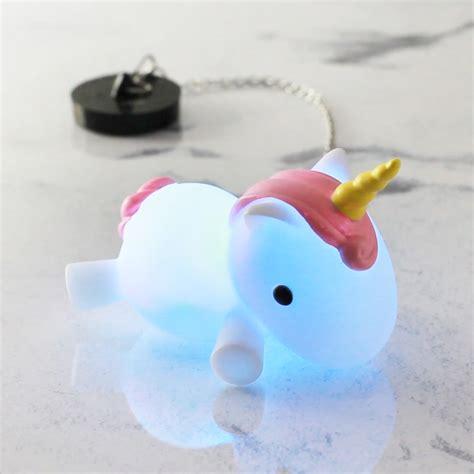 Colour Changing Unicorn Bath Plug   FIREBOX