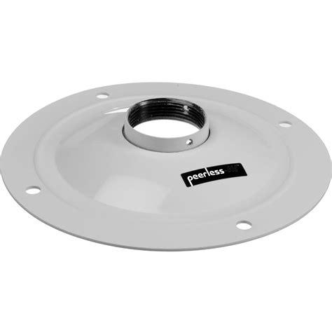 peerless av ceiling plate white acc570w b h photo